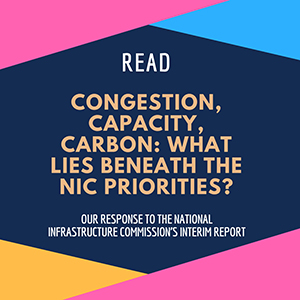 Read - Congestion, capacity, carbon: What lies beneath the NIC priorities