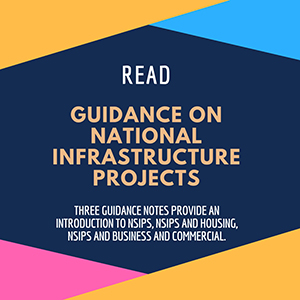Read - Guidance on National Infrastructure projects